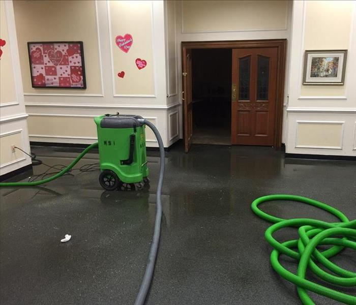 Overnight flood at Assisted Living Center