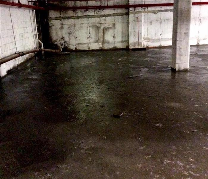 Commercial Sewer Backup In Staten Island Commercial Basement